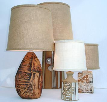 lamp bases with shades